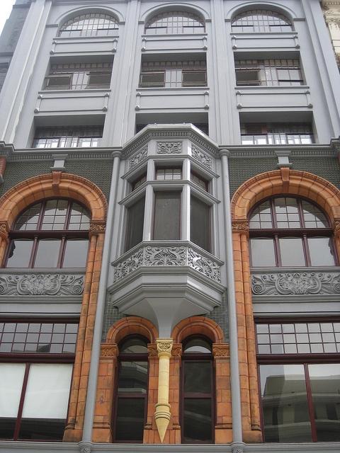 Facade of the Friendly Societies House - Elizabeth Street, Melbourne by raaen99, via Flickr