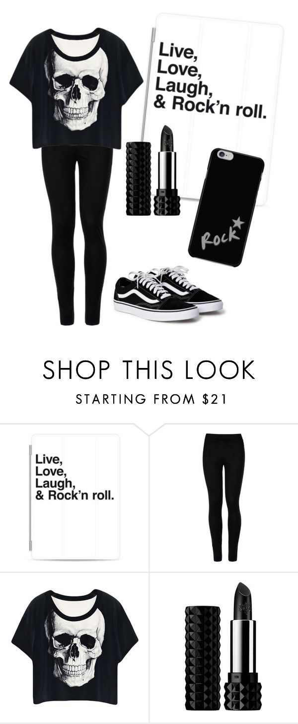 """""""Rock"""" by electraz on Polyvore featuring Casetify, Wolford and Kat Von D"""