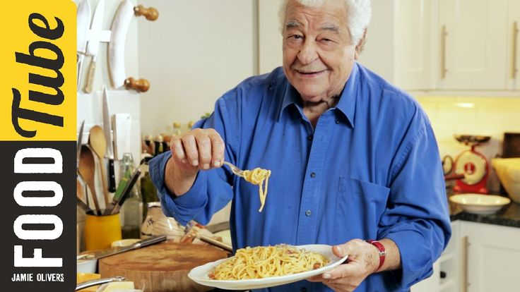 The legendary Antonio Carluccio finally makes his debut on Food Tube! We are honoured to have this incredible chef, author, restauranteur and old friend of Gennaro Contaldo share with us - and you - his authentic Italian carbonara recipe. So simple. So tasty.