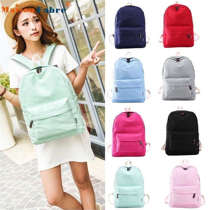 $8.21 (Buy here: https://alitems.com/g/1e8d114494ebda23ff8b16525dc3e8/?i=5&ulp=https%3A%2F%2Fwww.aliexpress.com%2Fitem%2FHigh-quality-Women-Canvas-School-Bag-Girl-Backpack-Travel-Rucksack-Shoulder-Bag%2F32729706064.html ) High quality Women Canvas School Bag Girl Backpack Travel Rucksack Shoulder Bag for just $8.21