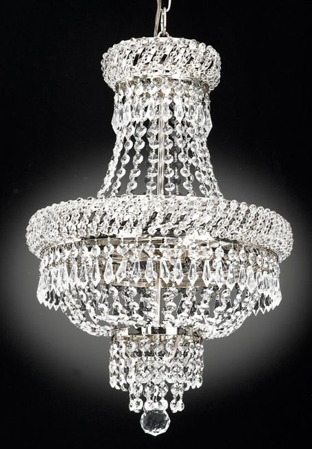 Purchase the famous French Empire Crystal Chandelier Chandeliers Lighting ,  Silver , X , 3 Lights by JAC D'LIGHTS online today. This sought after  product is ... - 49 Best Chandeliers Images On Pinterest Crystal Chandeliers