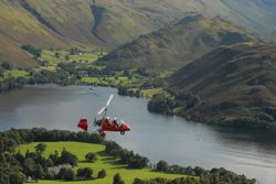 Take a memorable Gyrocopter tour of the Lakes - not too strenuous, but you still need a head for heights.