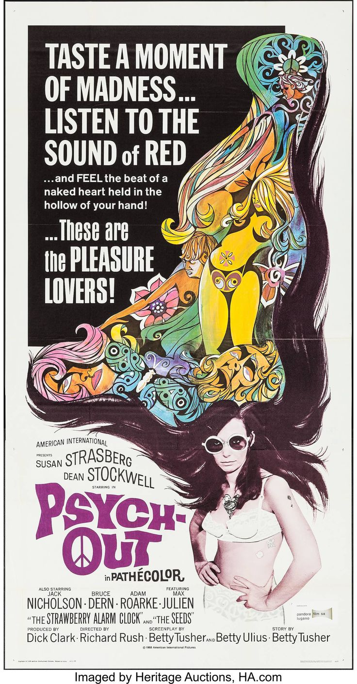 PSYCHOUT released Sept. 22, 1968 with Susan Strasberg