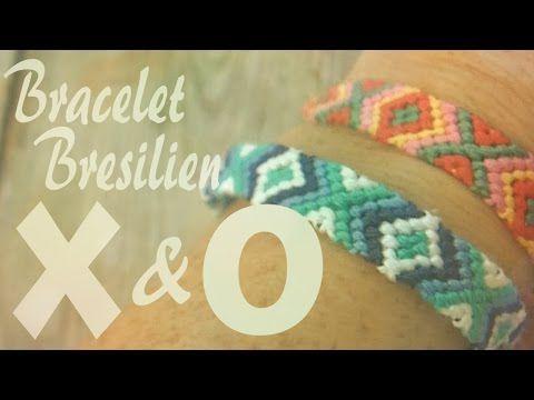DIY : Bracelet Bresilien -- X&O - YouTube