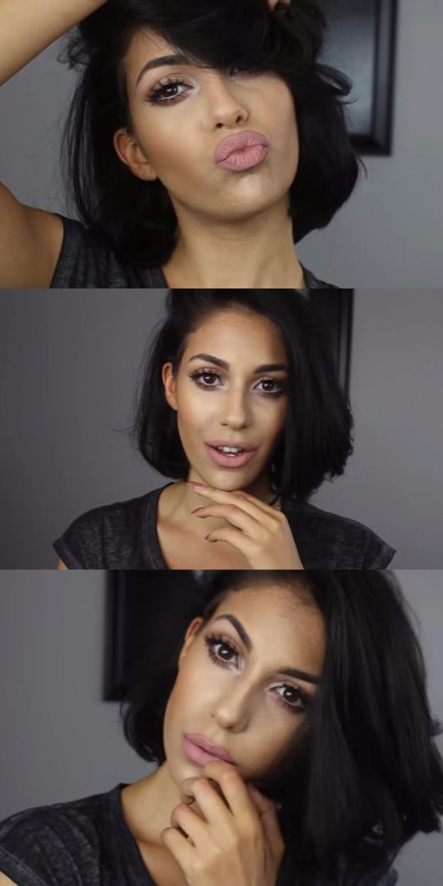 Makeup Tutorials For Small Eyes - soft open-eyed glam [great for small eyes] makeup tutorial- Easy Step By Step Guides On How to Apply Eyeliner and Get Perfect Lashes and Brows and How To Make Your Eyes Look Bigger - Beauty Tips for All Different Faces - Eyebrows and Cut Crease Youtube Videos for Girls - thegoddess.com/makeup-tutorials-small-eyes #eyemakeuptips
