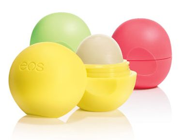 EOS lip balm. I use the mint one at night & keep the lemon one with me during the day (for the SPF). Natural & made with organic ingredients. They're awesome! Edit: I just got the medicated Tangerine one, too, which is also great!