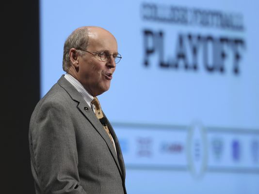 College Football Playoff adjusts semifinals scheduling = Nielsen ratings and rights fees have changed the paradigm of the College Football Playoff. USA Today reported Thursday that the CFP has changed future schedules so that the semifinal games won't be played on.....