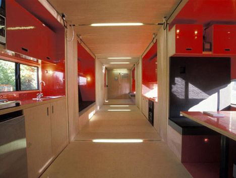 Cargo Container Home Interior Modern White Interior Doors