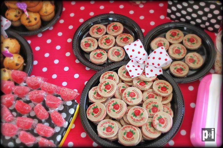 Mesas de dulces!! Minnie Mouse!! Contáctanos en Facebook www.facebook.com/pmasideco