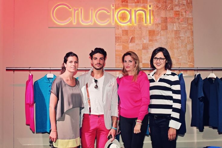 """The fourth picture in Mariano's style blog post """"CRUCIANI BRACELETS""""."""