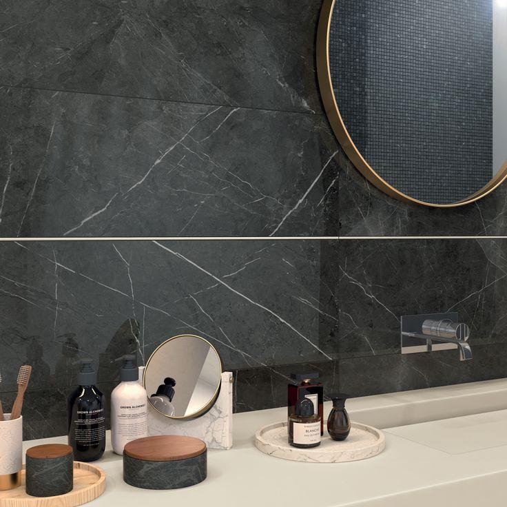 Collezione SENSI #abkemozioni, superficie LUX+ sinonimo di eleganza, lusso e brillantezza. #ceramic #tiles #floor #wall #marbleeffect #gresporcellanato #design #homedesign #bathroom #mirror #porcelainstoneware #ceramicsofitaly #floortiles #walltiles #designtiles #italiantiles