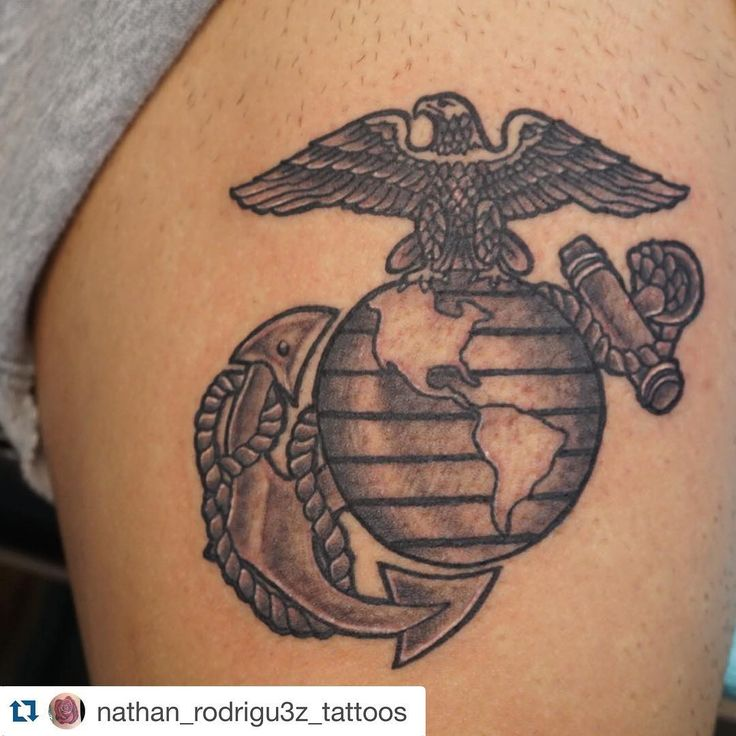 the 25 best ideas about usmc tattoos on pinterest marine corps tattoos marine tattoo and. Black Bedroom Furniture Sets. Home Design Ideas