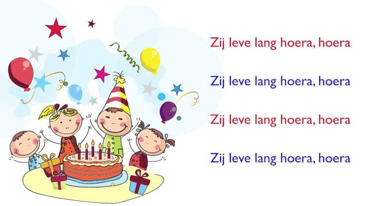 Kinderboekenweek 2014 Verjaardagslied