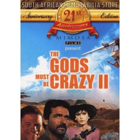Jamie Uys - Gods Must Be Crazy 2 - Hans Strydom South African Comedy DVD *New* - South African Memorabilia Store