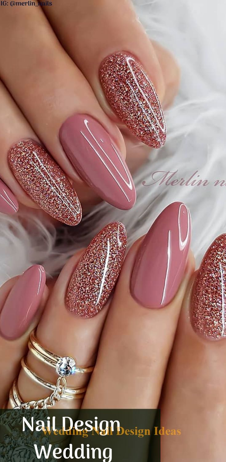 25 Crazy Nail Design Wedding To Match With Your…