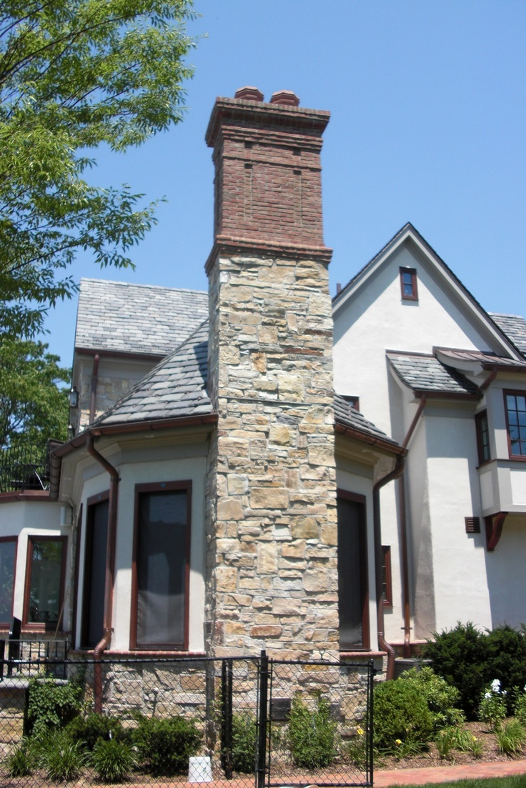332 best home ideas with stone images on pinterest for Stone chimneys