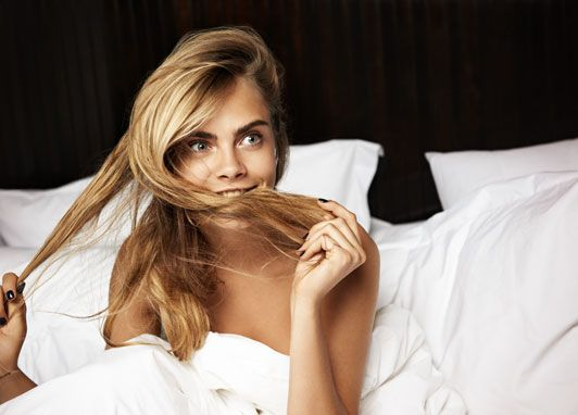 In bed with Cara Delevingne as she talks bags, boys and bunnies - Telegraph
