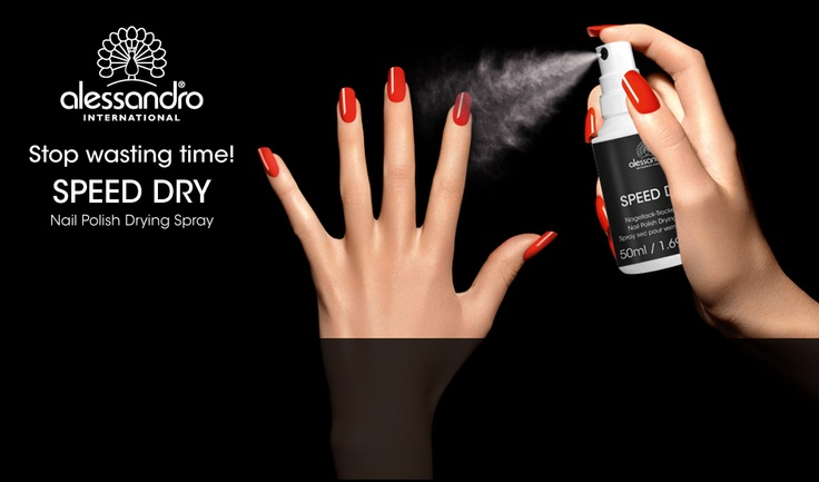 Alessandro International Speed Spray #quick #dry #best #seller #fast #perfect #spray #alessandrointernational #alessandronails