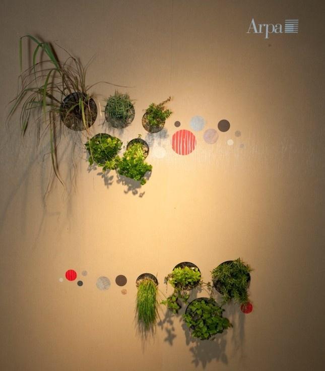 Dutch Design Week, wall made of Naturalia.