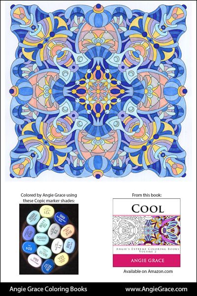 angies color palettes angie grace coloring books