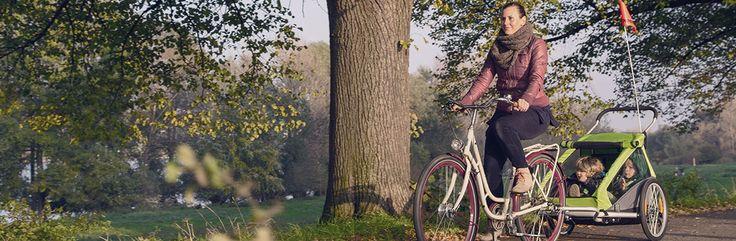 Le plaisir du vélo en famille avec la remorque Croozer Kid