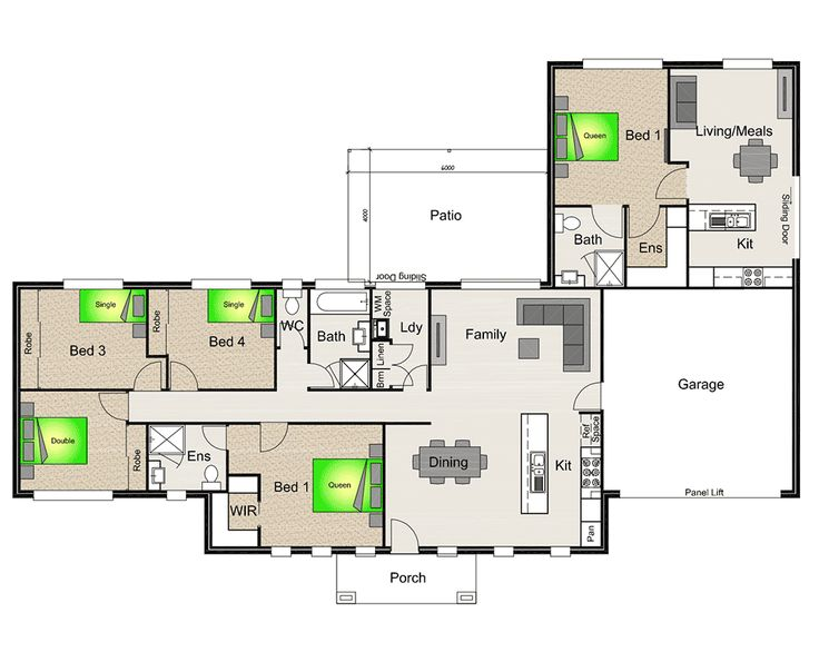 Granny flat oakleigh v2 in law suite plans pinterest for House plans granny flats attached