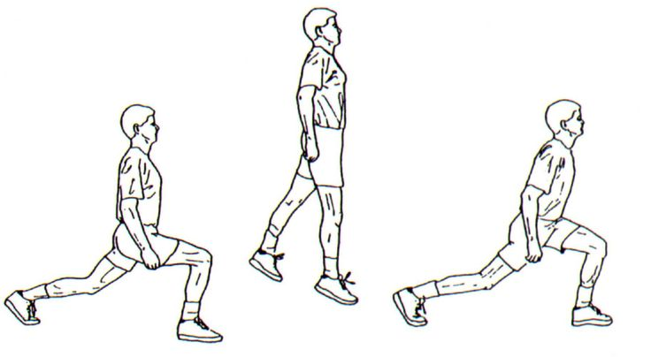 Lunge Split Jumps: How To