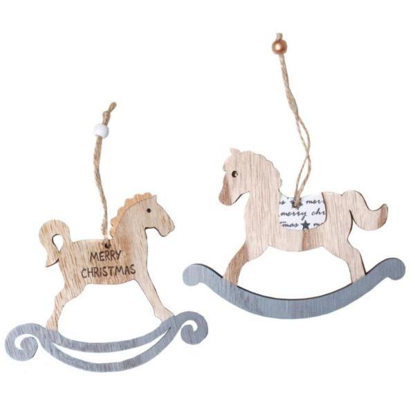 zzgl. versand - mehr in shop www.grado-basteln-spielen.deHänge - Deko - Schaukelpferd sort.- aus Holz, ca. 10,5 x 14 cm- einseitig gestaltet- mit Aufhängeband- Lieferumfang: 1 Stück nach Lagervorrat