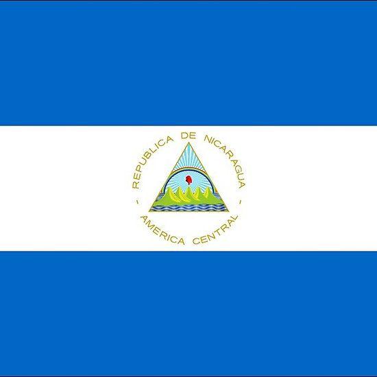 Nicaragua Flag Stickers
