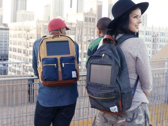 Project Solaire's Solar-Powered Backpacks Charge Gadgets on the Go | Ecouterre