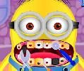 The cute minion has big teeth problems so he had to rush to the doctor. brush his teeth, clean them, heal his cavities and help the minion smile again in this funny simulation game.