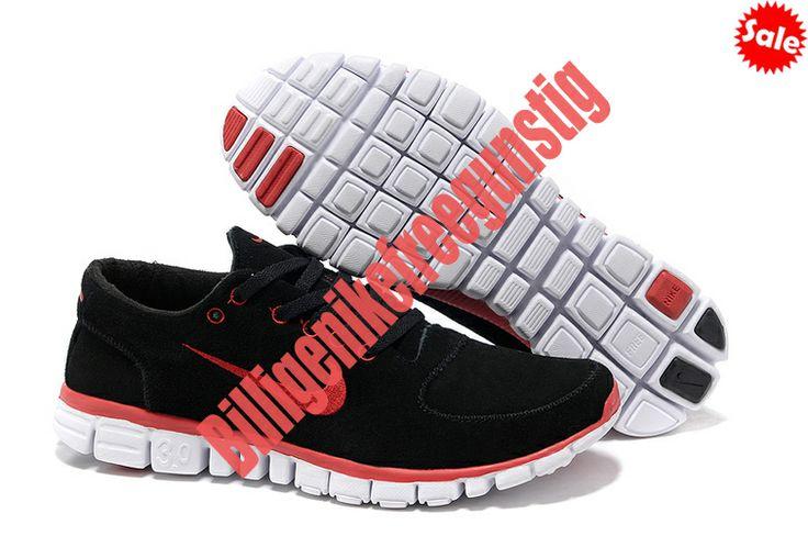 Schwarz Red Damen Nike Free 3.0 V2 Anti Fur Schuhe 2014 LKIV 6402397