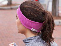 Headphones tucked inside these headbands make for ultra-comfortable listening. Perfect for sleep, exercise, or watching TV.