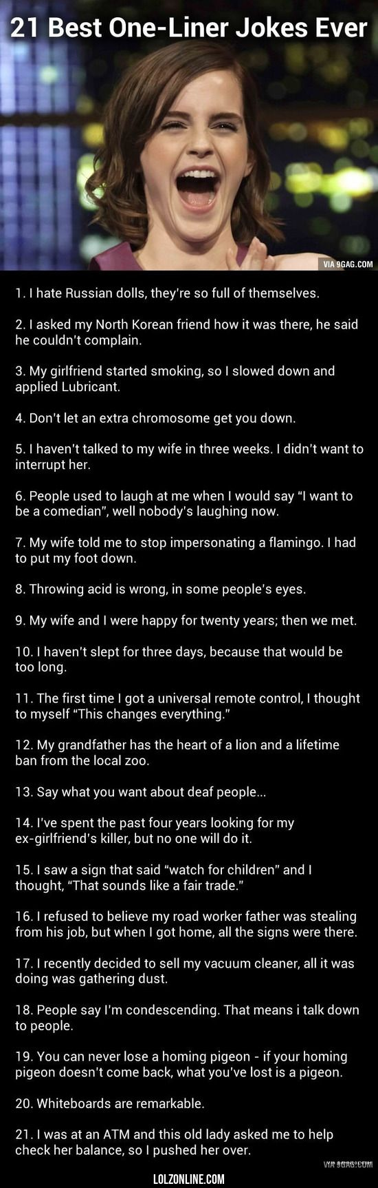A Few Good One Liners#funny #lol #lolzonline