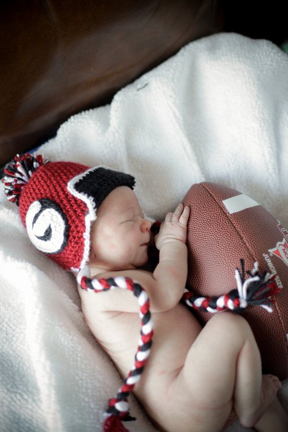 UGA Football Baby picture. My future kids will have a picture like this!