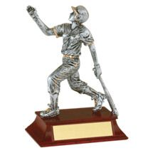 "Softball Trophy - Female - 6"" Resin Trophy"