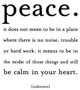 Peace and quiet pictures and quotes | The Red Boa: Mojo Monday ~ A Peaceful Place