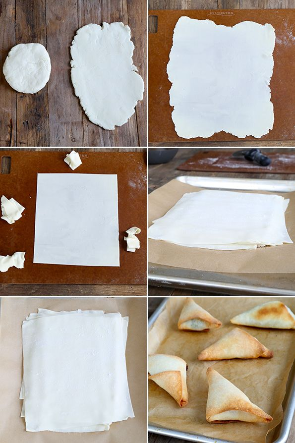 Gluten Free Phyllo Dough Step by Step