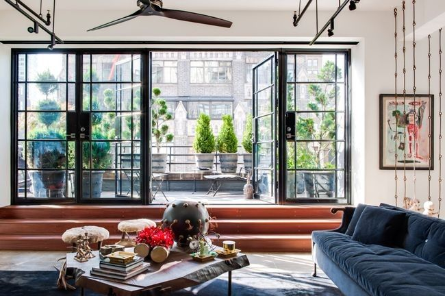 House tour: an industrial loft renovation in New York - Vogue Living