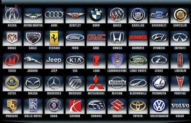 эмблемы автомобилей фото