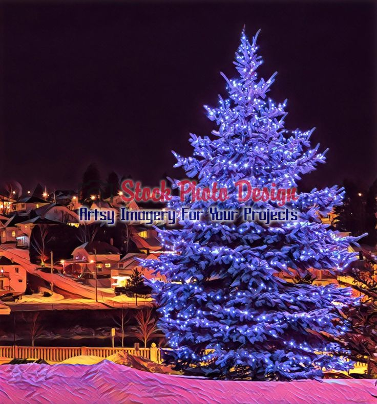 Christmas Tree in the City 1 -