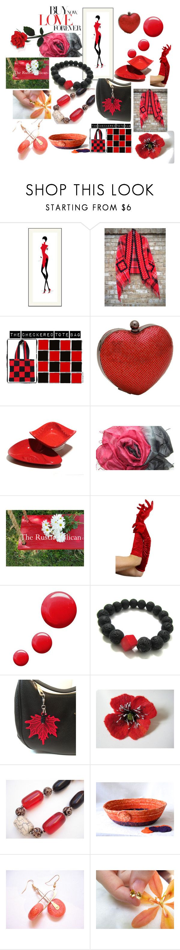 """""""Buy Now-Love Forever"""" by anna-recycle ❤ liked on Polyvore featuring Whiting & Davis, Topshop, modern, rustic and vintage"""