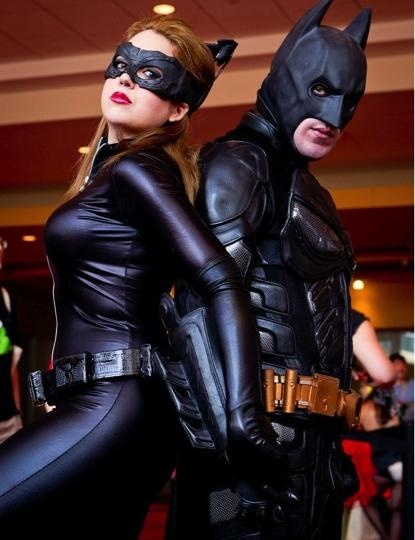 Disfraces de Batman y Catwoman