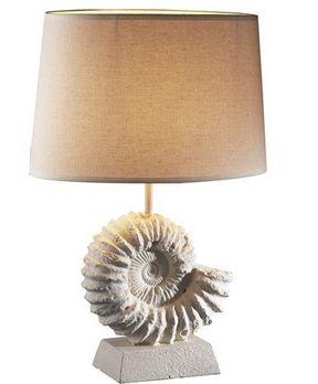 Ammonite Table Lamp - £160.00 - Hicks and Hicks