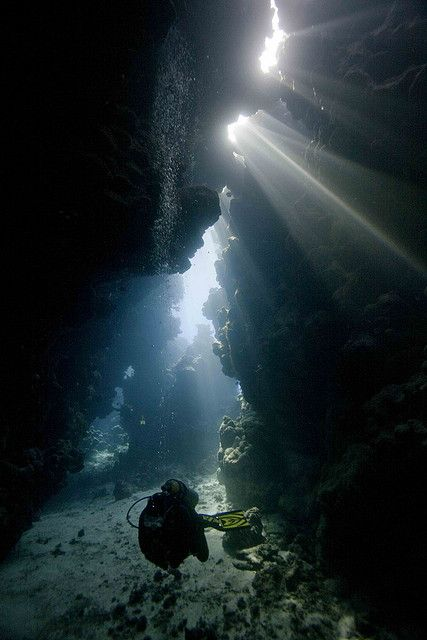 Exploring Underwater Caves | Flickr - Photo Sharing!