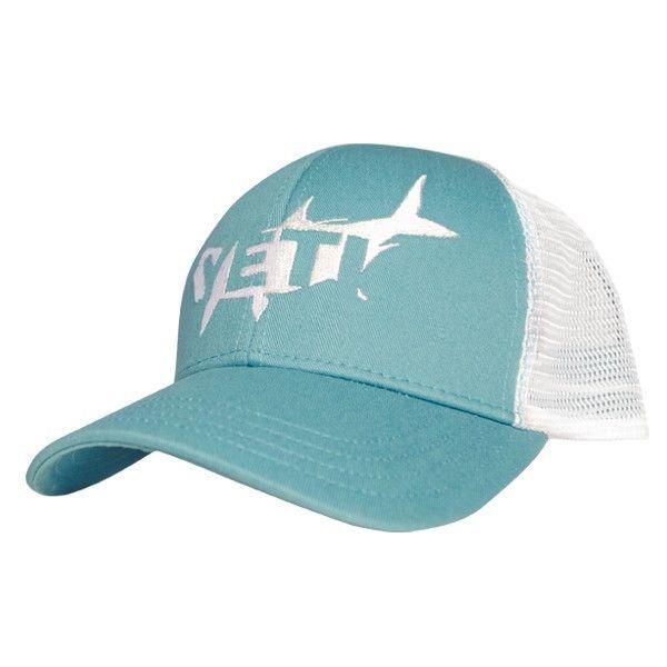 fc39060b039a2 Tarpon Trucker Hat in Teal by YETI