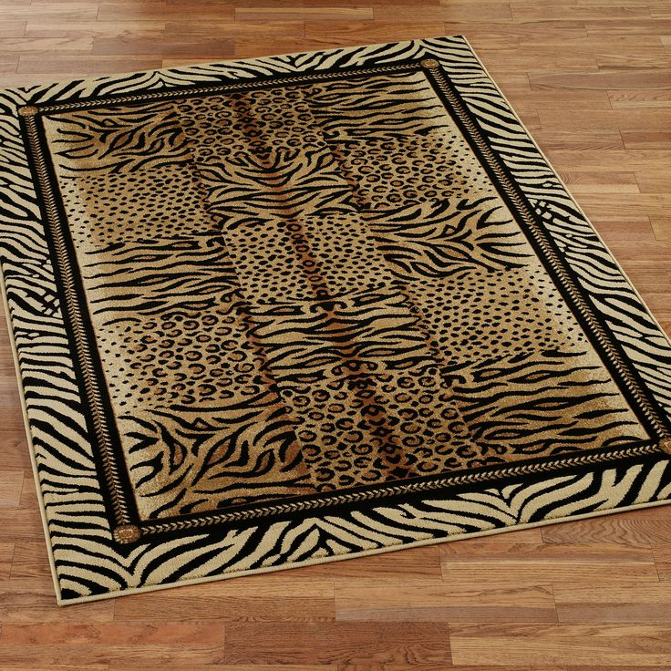 Home Goods Rugs The Festival Jungle Animal Print Area Rugs prove that the most beautiful designs e not from man us imagination but from nature us canvas