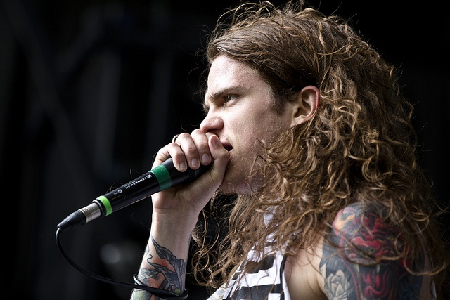 Levi Benton...he's a singer for some hardcore band that i've never listened to.