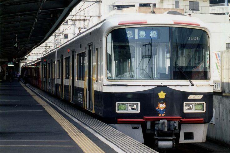 3106(パトカー電車)名鉄新岐阜