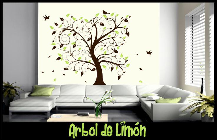 VINILO DECORATIVO- ARBOL DE LIMON